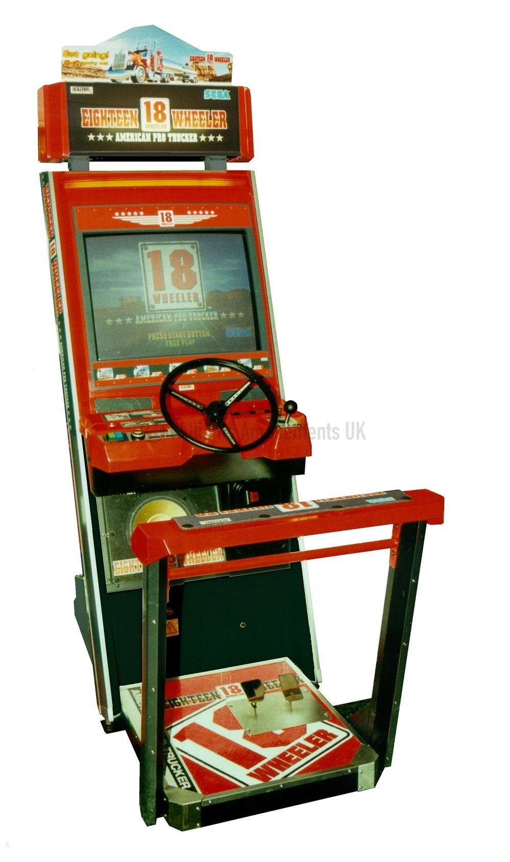 18 Wheeler For Sale >> sega 18 wheeler arcade game for sale