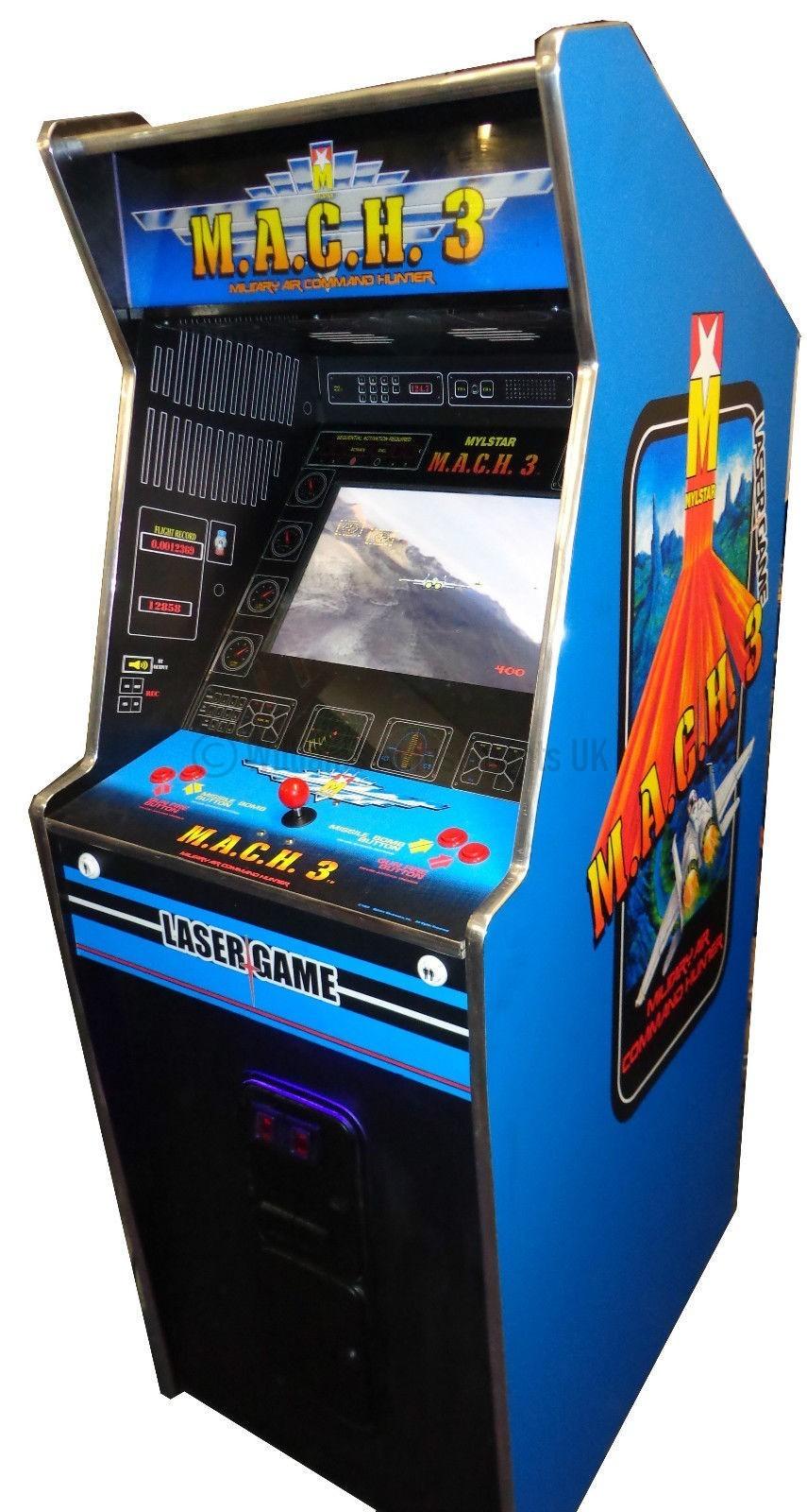 1942 Arcade Cabinet Mach 3 Arcade Machine