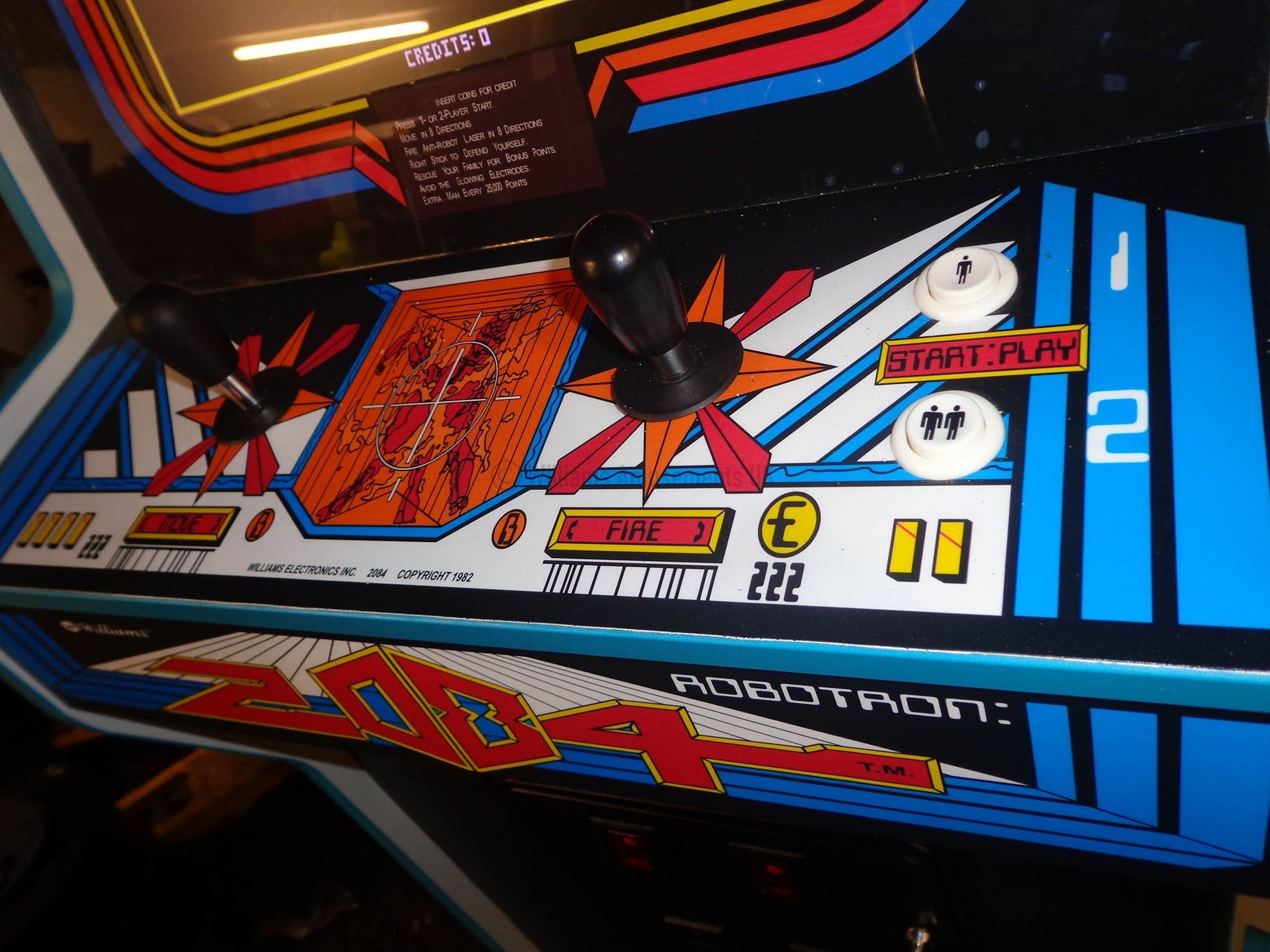 1942 Arcade Cabinet Williams Robotron Williams Amusements