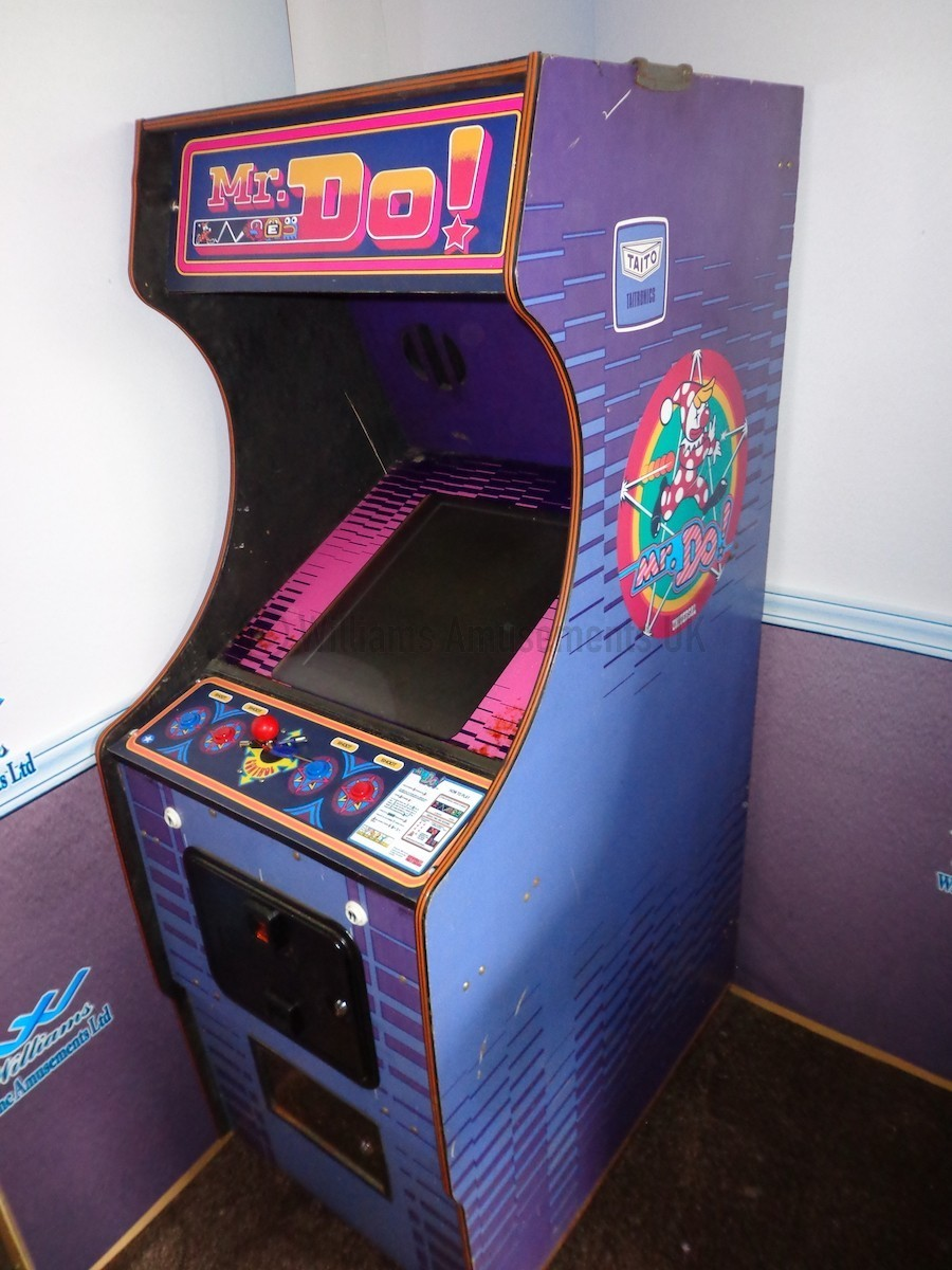 Used Arcade Games Sale : Mr do arcade machines for sale