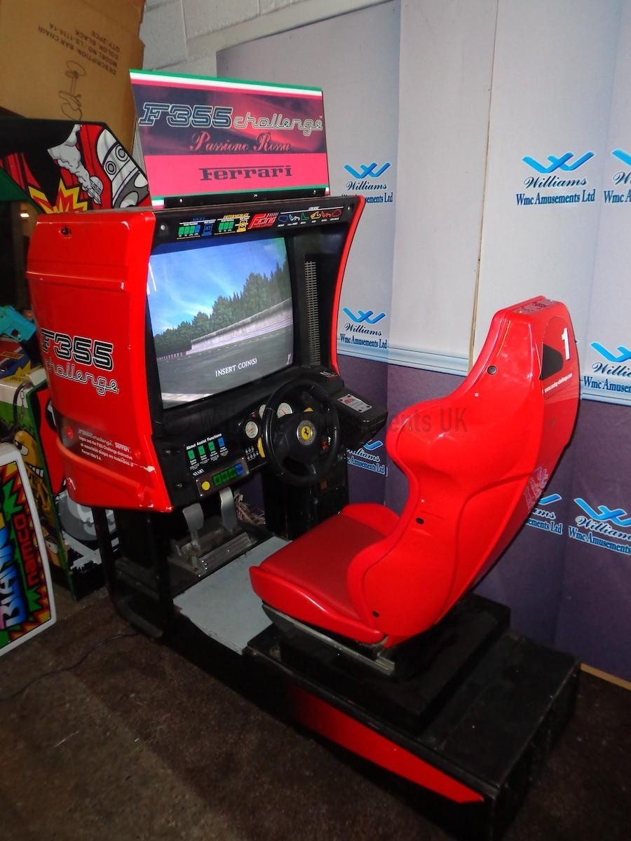 Sega Ferrari F355 Arcade Machines For Sale