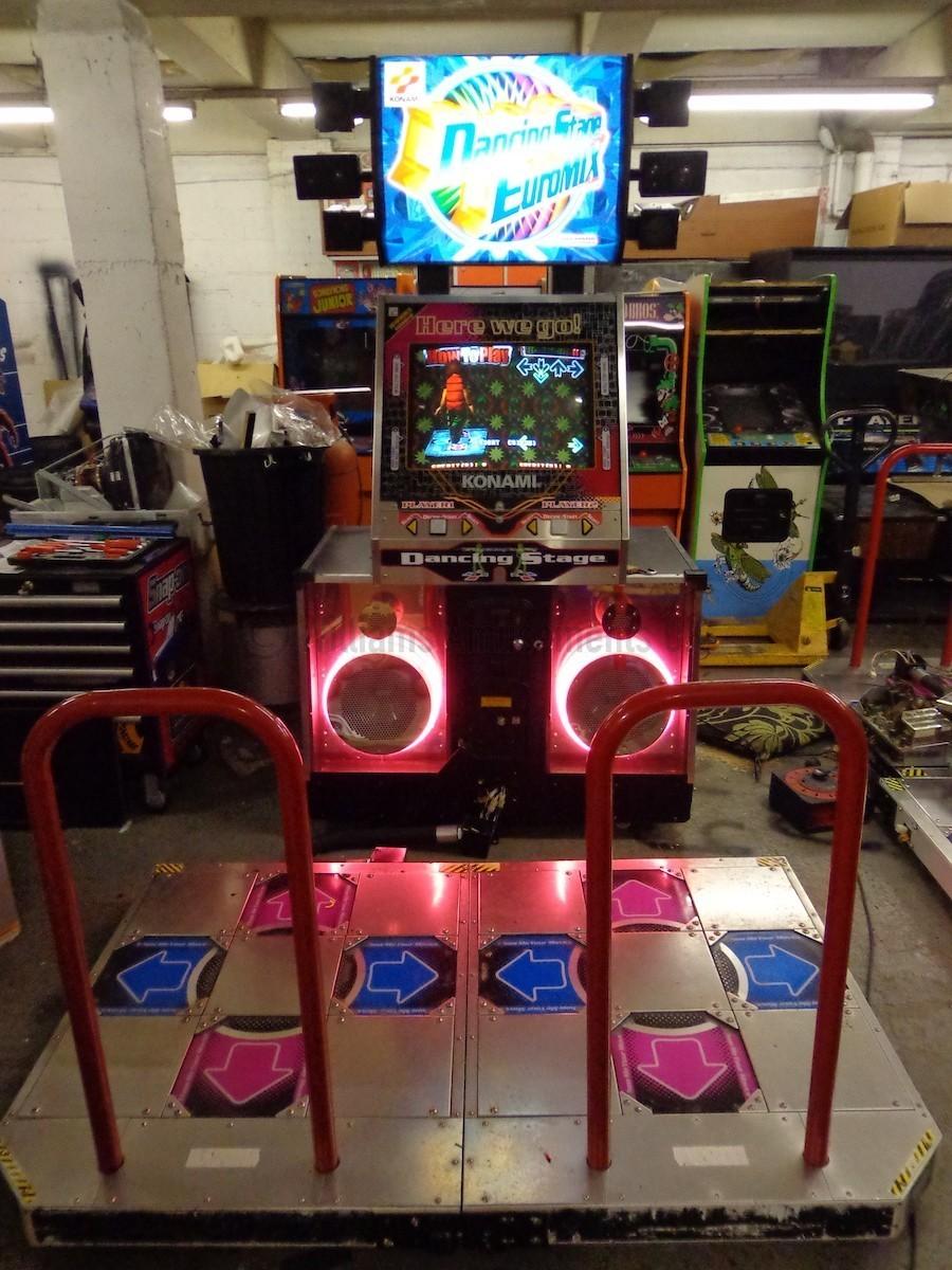 Konami Dance Stage Euromix Arcade Machines For Sale