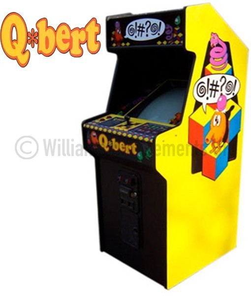 Q Bert arcade machine - Williams Amusements