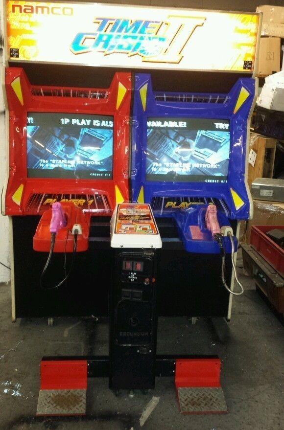 time crisis 2 arcade machine