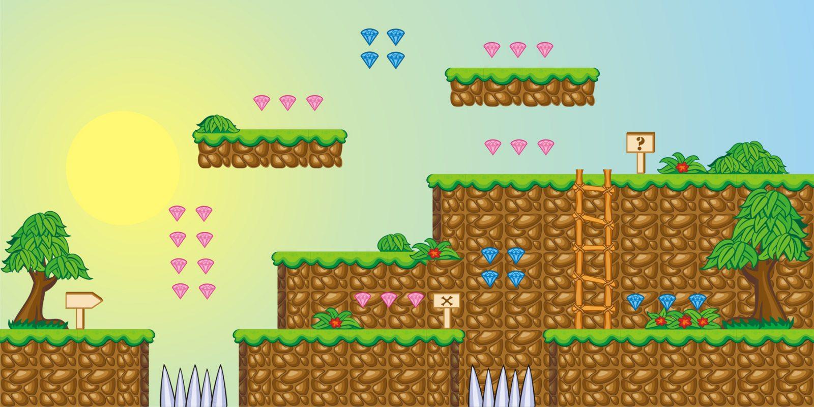 Как сделать прыжки в game maker