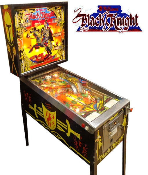 black knight pinball
