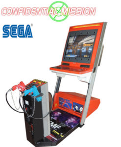 confidental mission arcade machine
