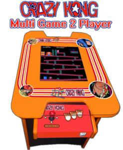 crazy kong arcade table
