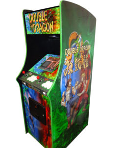 double dragon mame themed cabinet