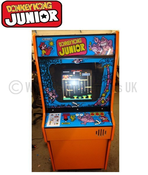 Donkey Kong Jr Williams Amusements