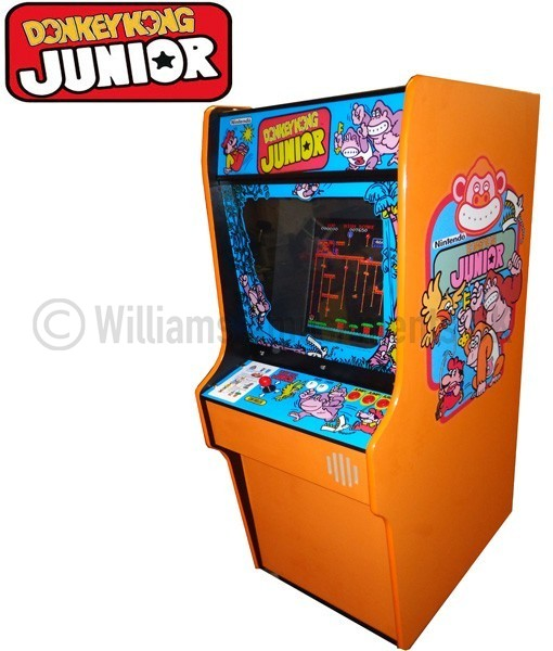 donkey kong jr arcade machine