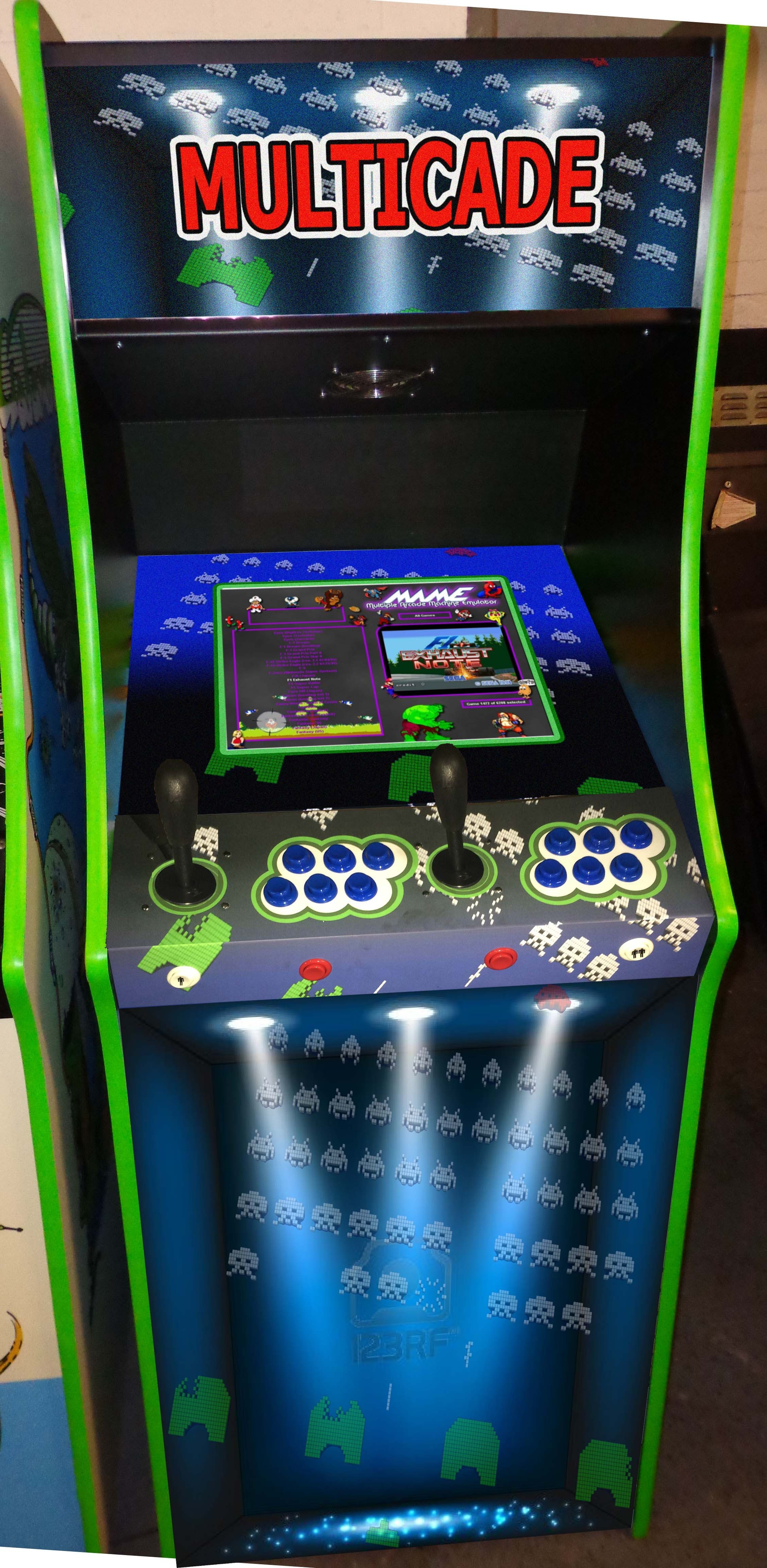 The ultimate arcade machine has now got even better! No need to ...