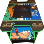galaxian table front