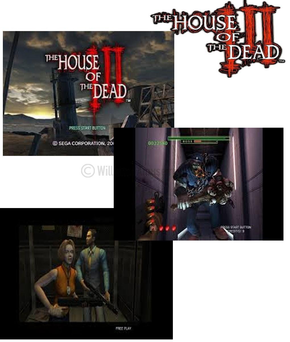 Sega House Of The Dead 3 Delux Williams Amusements