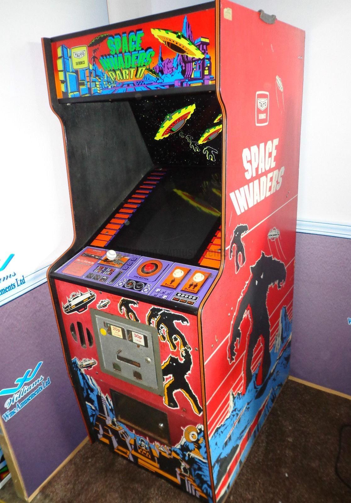 space invader arcade machine for sale