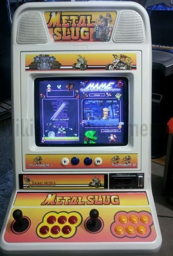NEW Metal Slug edition MAME CABINET - Williams Amusements