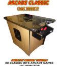 oak arcade table usa
