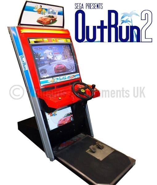 Sega Outrun 2 Upright Williams Amusements