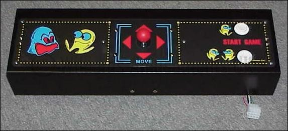 Star Wars Pinball Machine >> pac man control panel - Williams Amusements