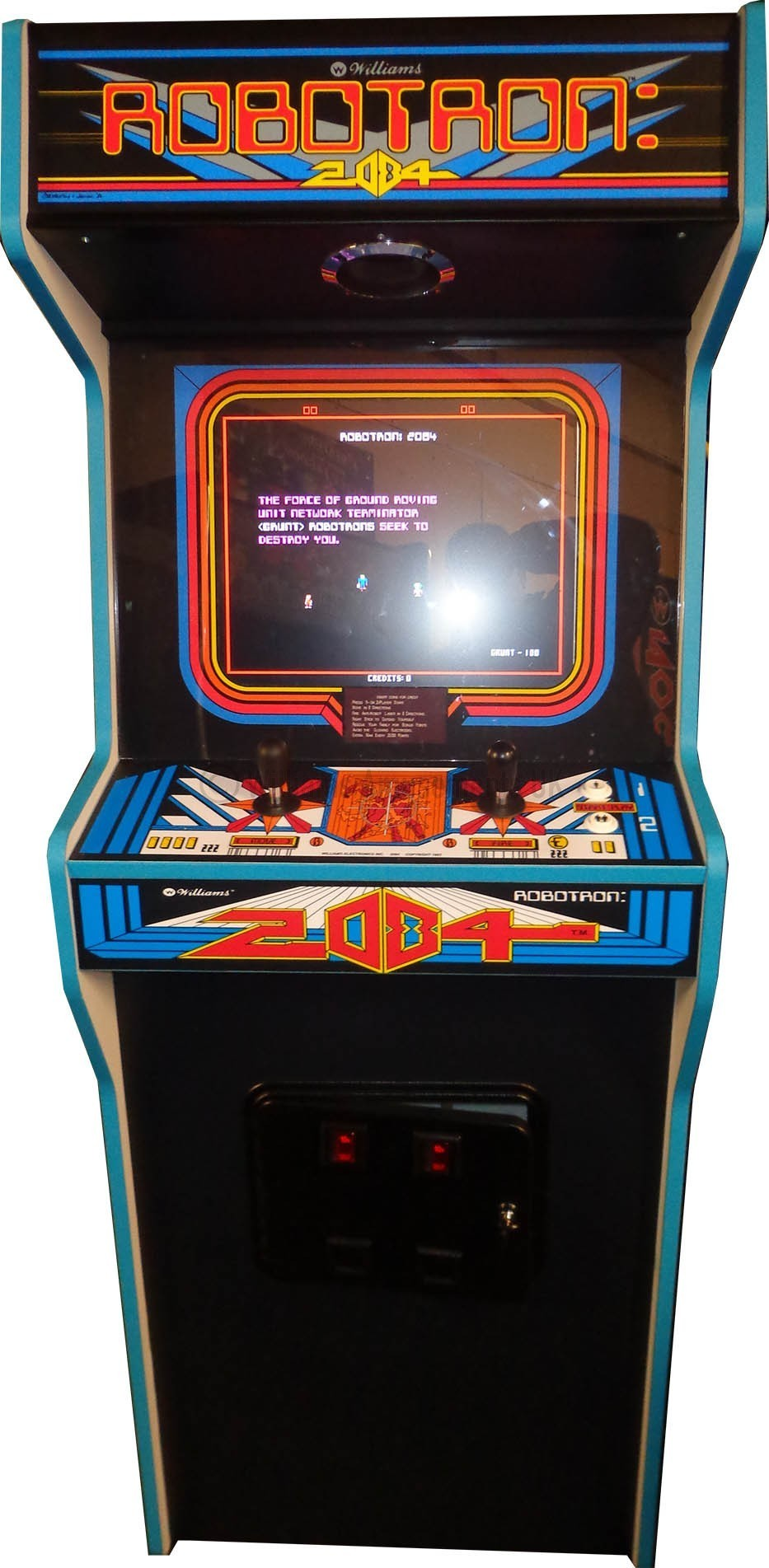 Robotron Arcade Cabinet Www Stkittsvilla Com