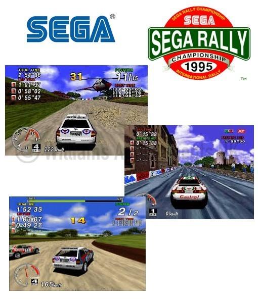 Sega Rally Upright - Williams Amusements