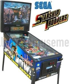 starship troopers pinball