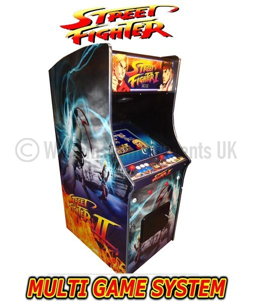 Street Fighter 2 Arcade Machine Williams Amusements