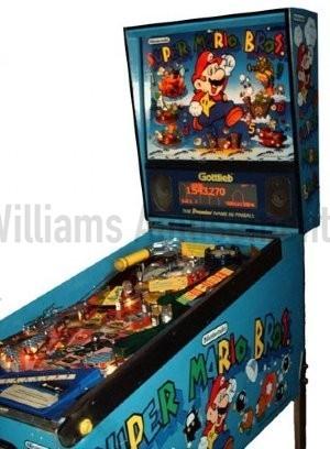 super mario brother pinball machine