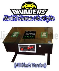 uk style all black arcade table