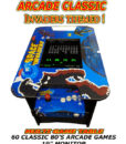 usa invaders theme arcade table