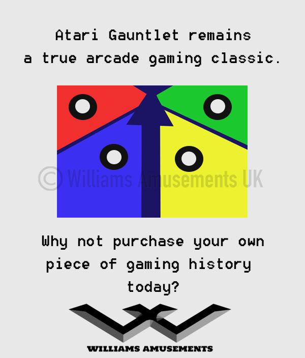Atari Gauntlet Arcade Machine