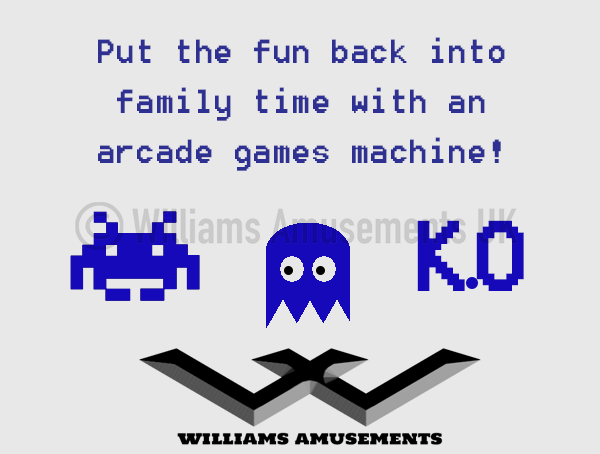 Family advantages to arcade machines