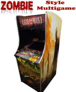 zombie arcade machine